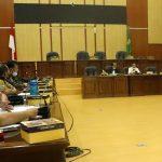 Rapat Kerja Pembahsan Surat Edaran Sekretaris Daerah Kabupaten Ciamis tentang Penundaan Pelaksanaan Kegiatan dan Belanja Daerah (APBD) Kab. Ciamis Tahun Anggaran 2021 Mitra Kerja Komisi D